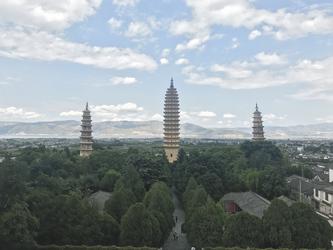 Drei Pagoden Tempel in Dali