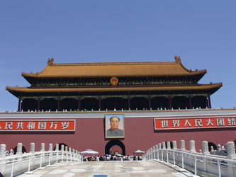 Himmlisches Friedenstor in Peking