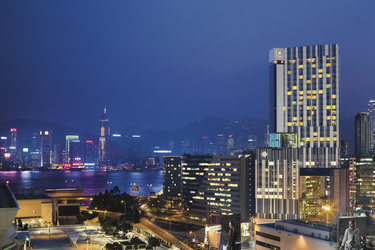 Ausblick auf Hong Kong