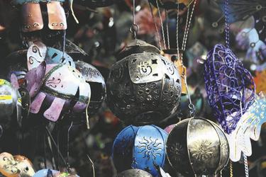 Souvenirs aus Indonesien