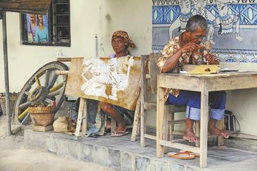 Künstler in Yogyakarta