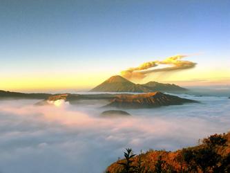 Vulkan Mt. Bromo