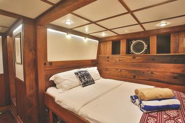 Doppelkabine mit Doppelbett, ©Sea Trek