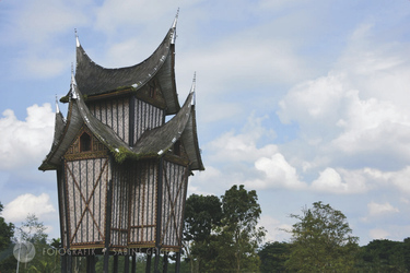 Batak-Häuschen