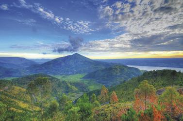 Landschaft um den Toba See, ©Ministry of Tourism, Republic of Indonesia
