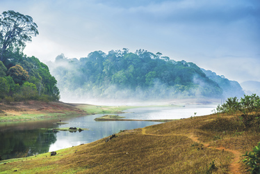 Thekaddy Lake im Periyar Nationalpark