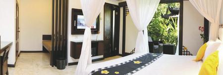 Deluxe Zimmer Gartenblick
