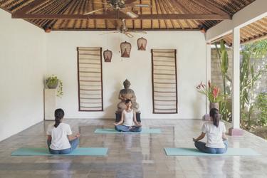 Yoga Bereich