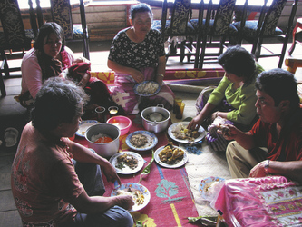 Mittagessen in Sumatra - ©Kelana DMC, Indonesien