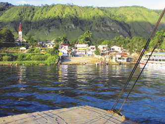 Blick über den Toba See, ©Kelana DMC, Indonesien