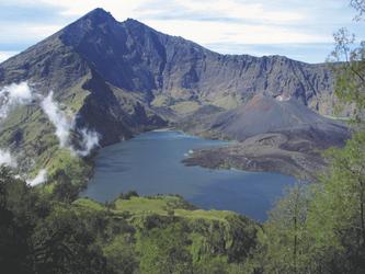 Krater des Mount Rinjani