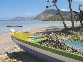 Boot a, Strand von Lombok