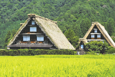 Historische Dörfer von Shirakawa