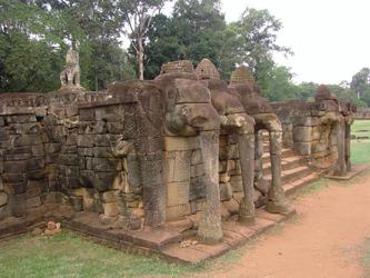 Elefantenterrasse,  Angkor Thom