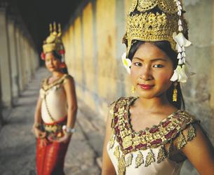 Apsara Tänzerinnen