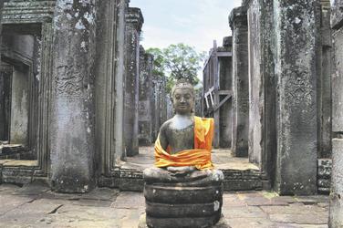 Buddha im Tempel Angkor