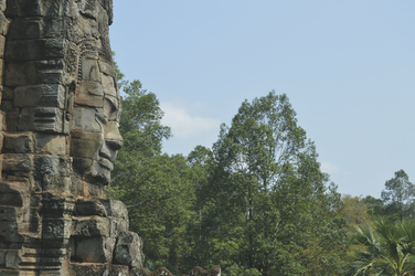Gesichterturm Bayon Tempel