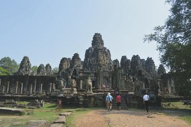 Südseite von Angkor Wat
