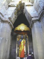 Goldener Buddha, Angkor Wat