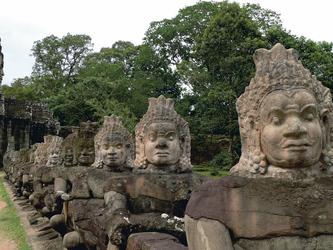 Angkor Anlage, Osttor