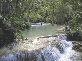 Kuang Si Wasserfall bei Luang Prabang