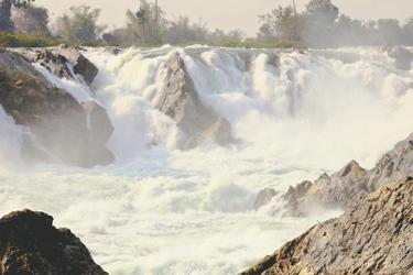 4.000 Inseln, Lipi Wasserfälle