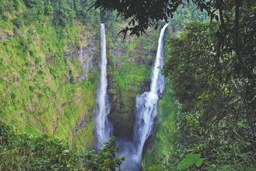Bolaven Plateau, Wasserfall