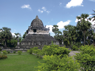 Stupa im Wat Visounnarath, Luang Prabang