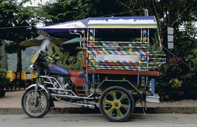 Tuk Tuk in Laos