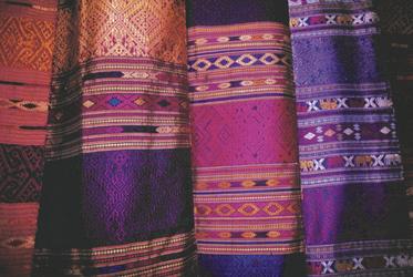 Laotische Textilien, ©Exo