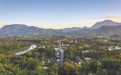 Luang Prabang  Sonnenuntergang, ©Lernidee