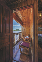 Mekong Pearl Deluxe Kabine privater Balkon