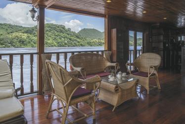Mekong Pearl Außenbereich, ©Adri Berger