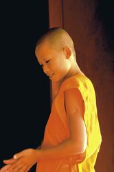 Junger Mönch