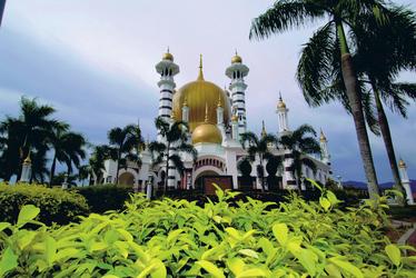 Ubudiah Moschee in Kuala Kangsar