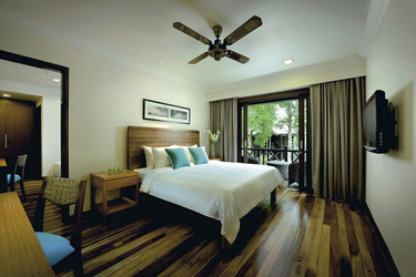Taaras Beach an Spa Resort, Deluxe-Zimmer, Gartenblick