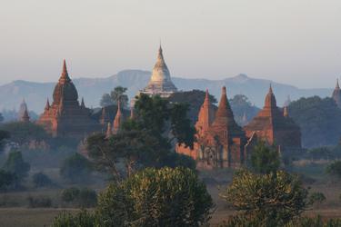Ebene von Bagan