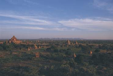 Sonnenuntergang in Bagan