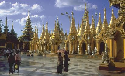 Shwedagon-Pagoda in Yangon