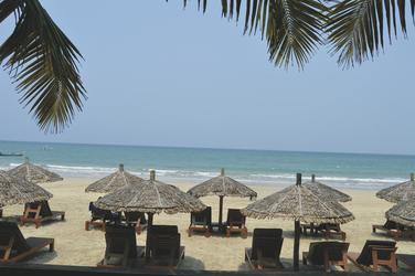 Strand vor dem Amata Resort