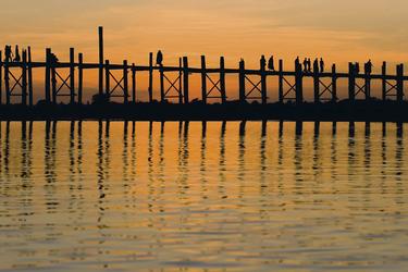 U-Bein-Brücke in Amarapura