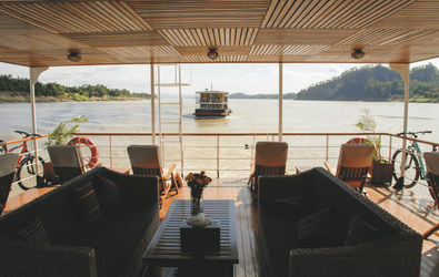 Blick auf den Irrawaddy - © Pandaw River Cruises