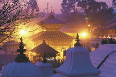 Pashupatinah Tempel in Kathmandu