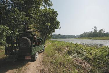 Safari im Chitwan Nationalpark