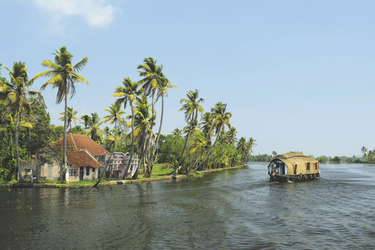 Hausboot in Kerala