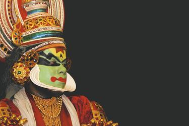 Kathakali Tänzer, ©Aberkrombie & Kent India
