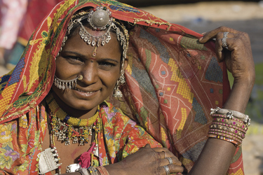 Frau von Rajasthan