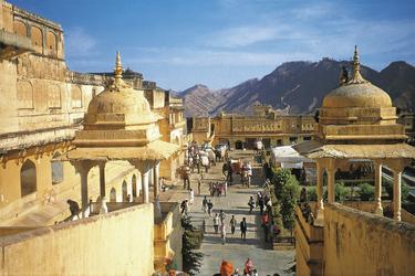 Tempelanlage in Jaipur