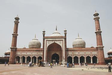 Freitagsmoschee in Delhi