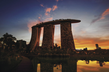 Marina Bay Sands Hotel ©Timothy Hursley